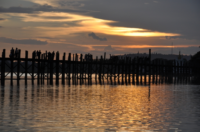 U Bein Bridge - Birmanie