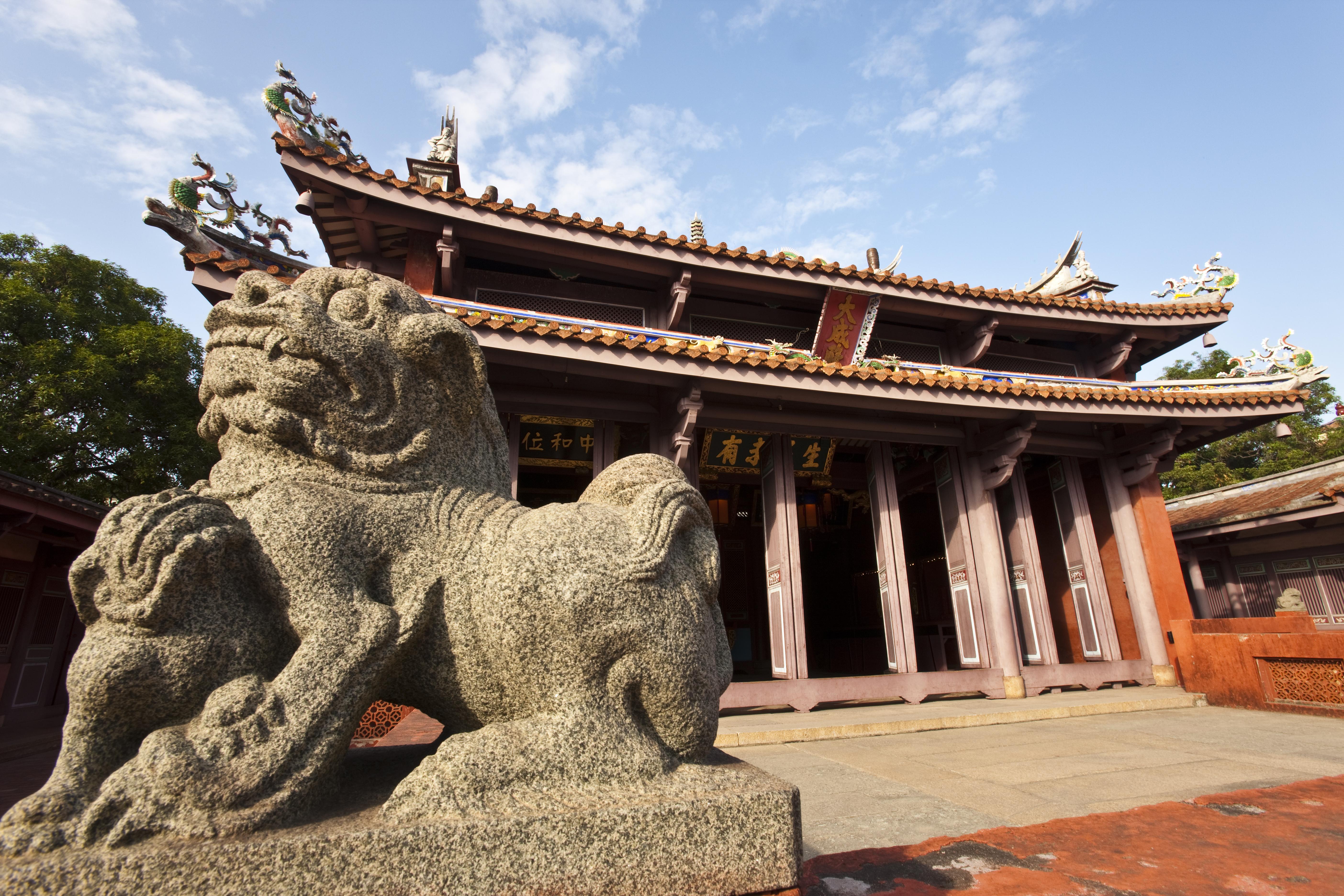 Taiwan, Tainan, Confusius temple