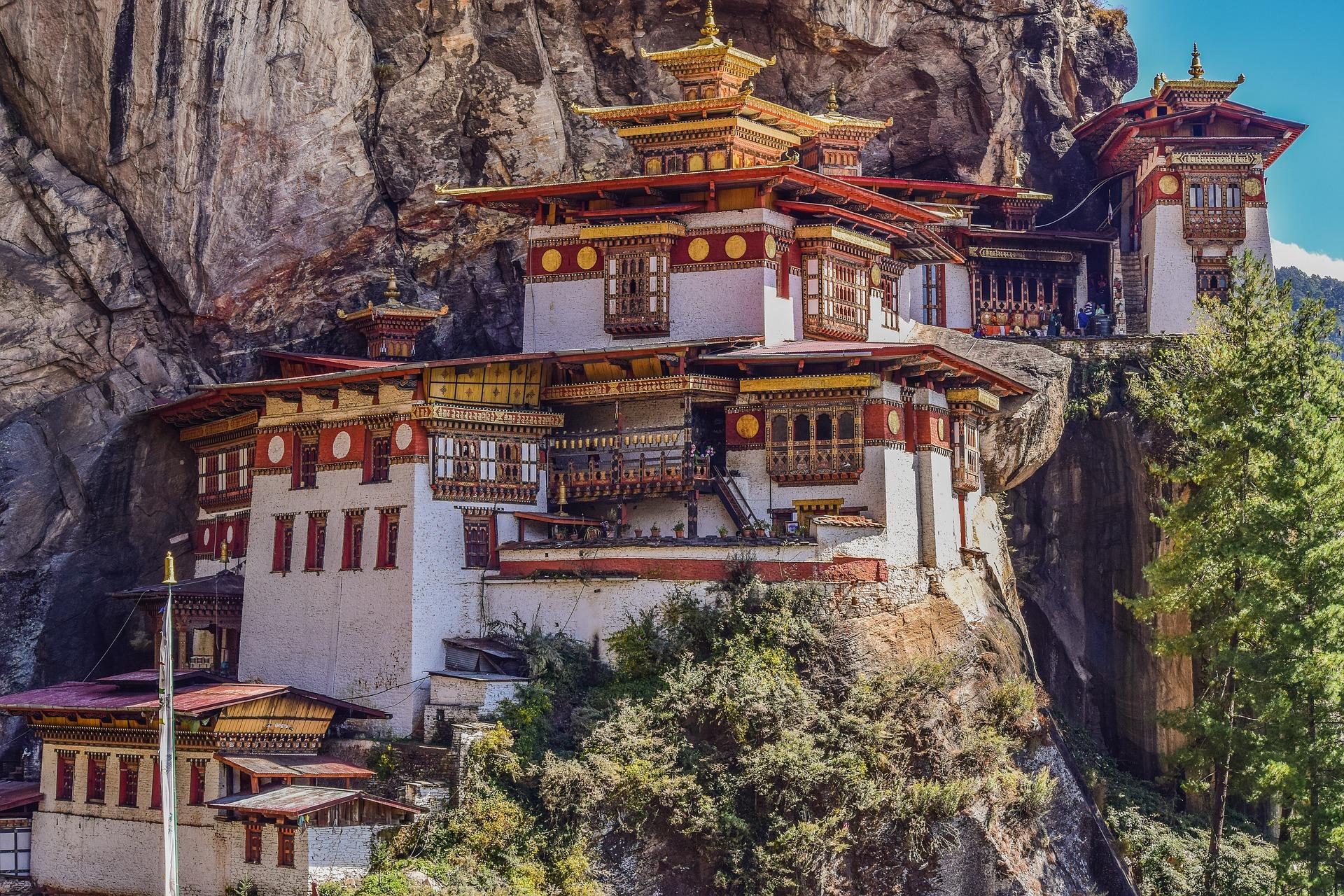 Bhoutan - Nid du Tigre