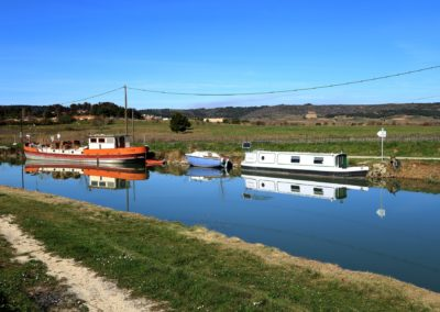 Le canal du midi en bateau